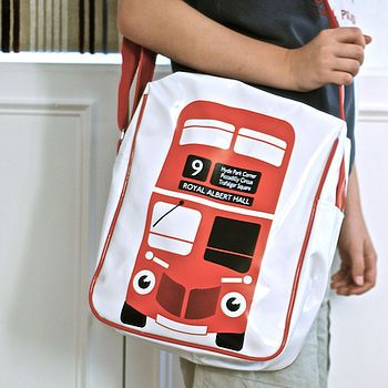 DD, tote bag: Buses, Travel Bags, Messenger Bags, Big Bus, Big Red Bus, Bus Bags, Products, Bus Messenger, London Baby