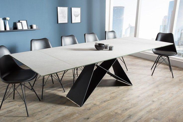 Der Moderne Esstisch Ist Ausziehbar Und Begeistert Mit Einer