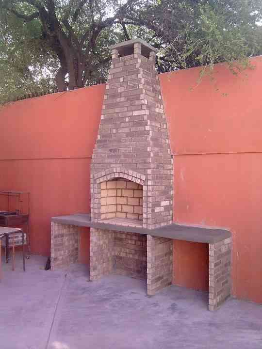 42 best asadores jard n images on pinterest barbecue - Porches rusticos fotos ...