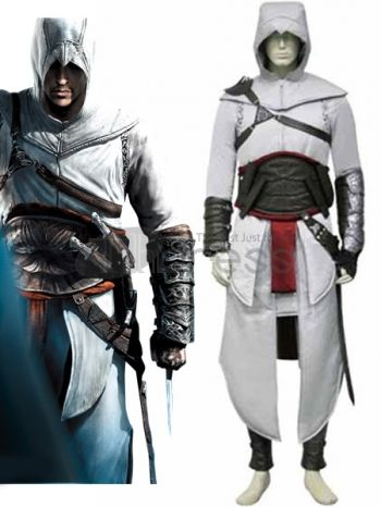 There are often 4 different outfits to choose from and they all come with distinct capes and colors. This vivid adult cosplay costume makes you the same as the character in Assassin's Creed 2.