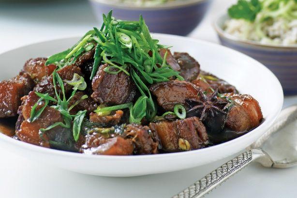 Vietnamense Thit Heo KHo (five-spice caramelized pork)