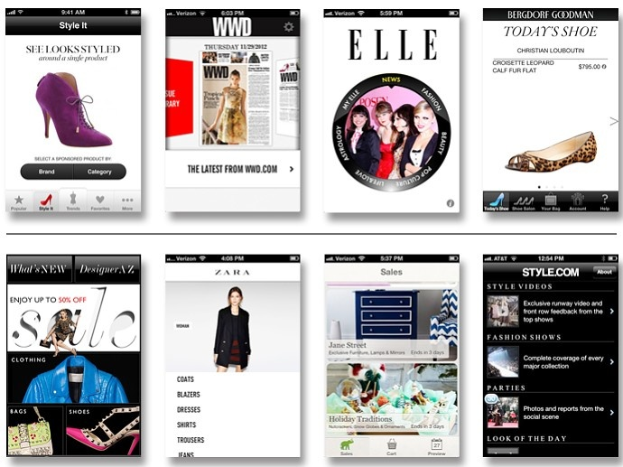 50 Best Fashion Apps For the iPhone