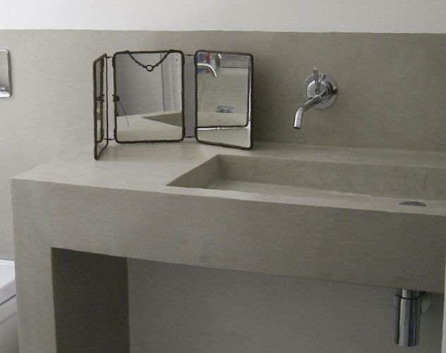 111 best images about b ton cir on pinterest - Beton cire salle de bain leroy merlin ...
