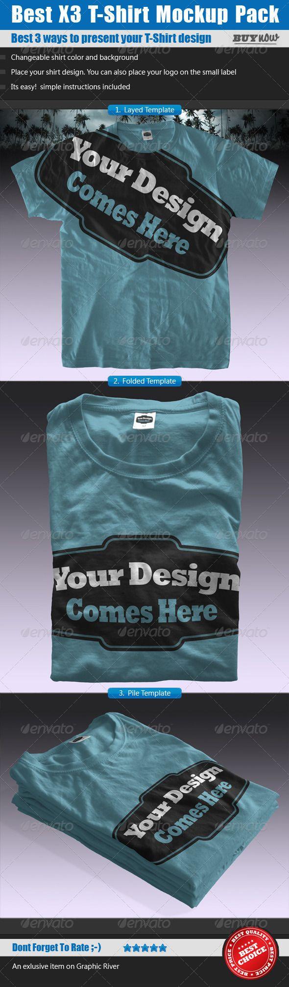 Design t shirt online template - T Shirt Mock Ups Pack Shirt Template