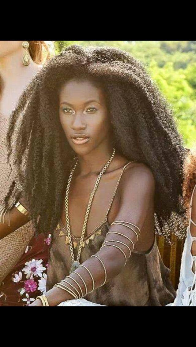 Natural Hair B Long