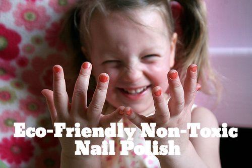 How to Avoid Toxic Nail Polish and Find Eco Friendly Nail Polish Brands | SmallFootprintFamily.com