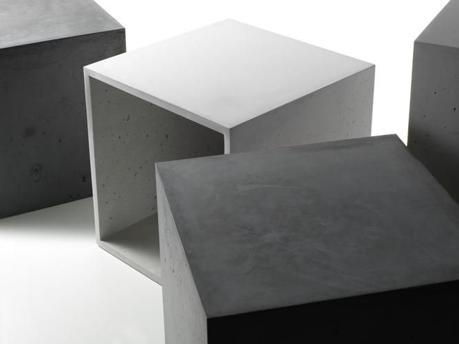 Concrete Storage Cube