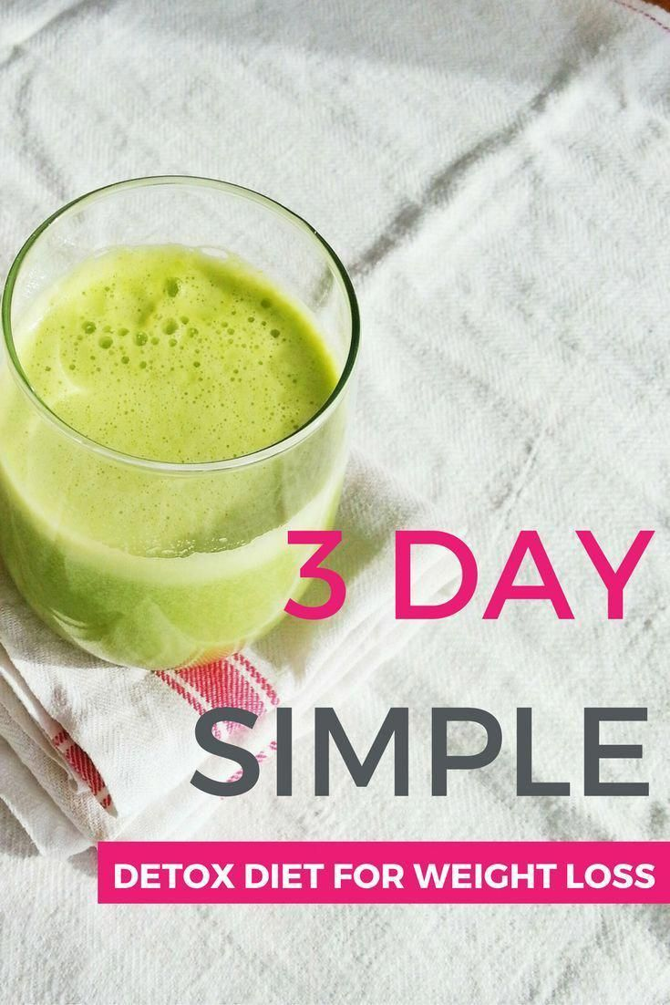 3 Day Easy Detox Diet for Weight Loss | Sugar Detox