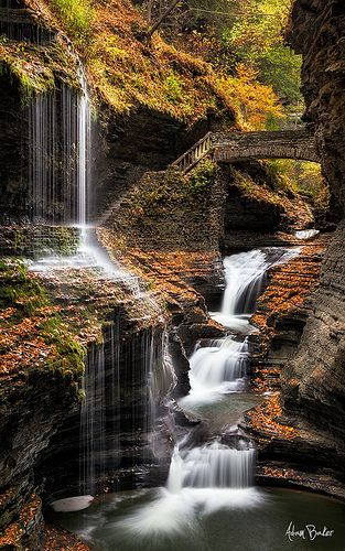 Rainbow Falls - Watkins Glen, New York