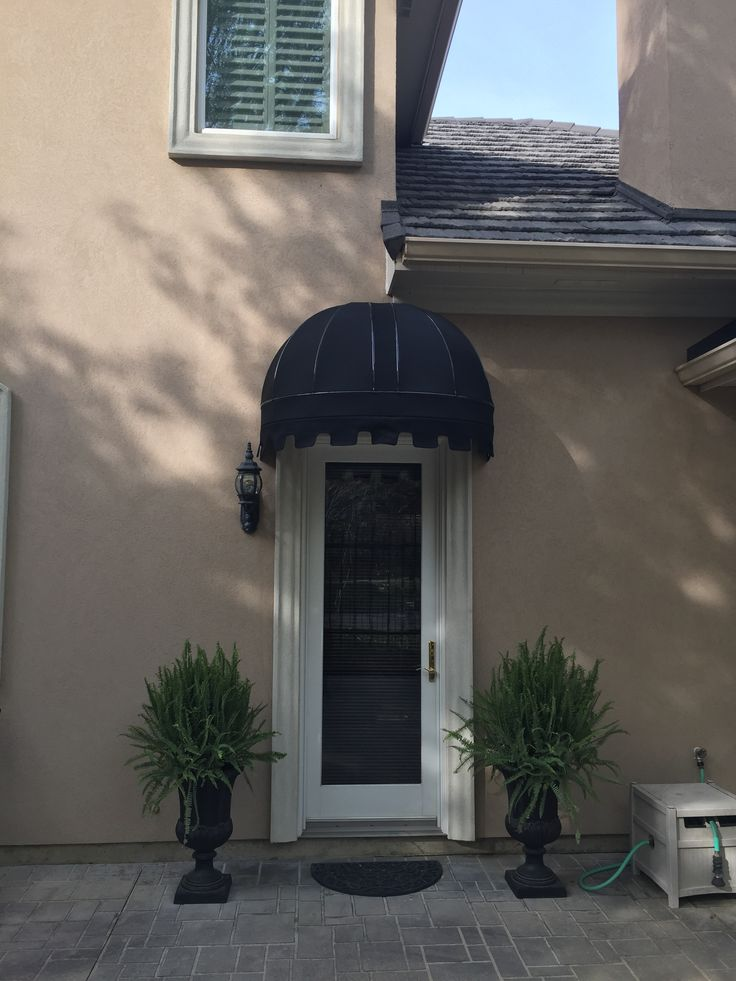Residential Dome Awning Residential Awnings Pinterest