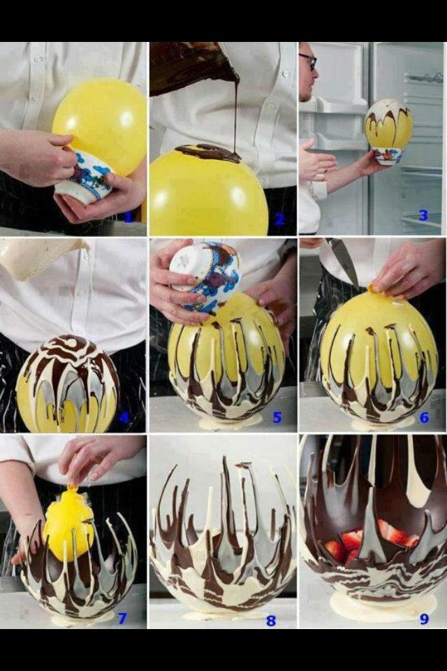 Cool chocolate idea! I love this!!