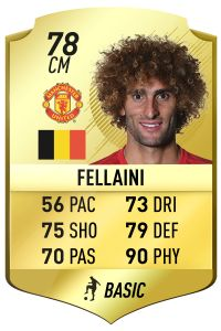 Marouane Felliani FIFA 18 Rating