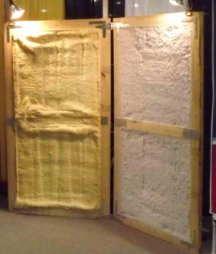 Spray Foam Insulation vs SATAC Insulation for pole barns, metal buildings and other commercial properties. Insulation materials metal buildings.