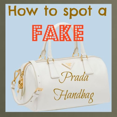 black high top pradas - How to spot a fake Prada Bag, Purse Or Wallet (Without An ...