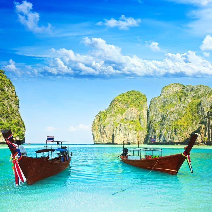 Thai Island Koh Phi Phi: Maya Bay, Koh Phi Phi Ley, Thailand