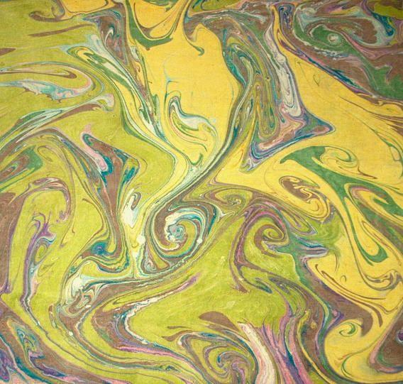 Técnica para la elaboración de papeles marmolados Este procedimiento, para la fabricación de papel marmolado, se basa en la flotación de las pinturas al aceite, cuando son vertidas en agua. El marm...