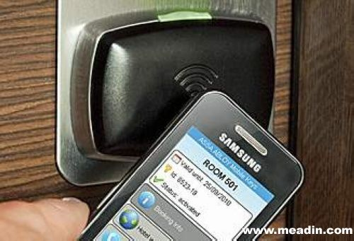 Get access to your room through scanning your mobile phone