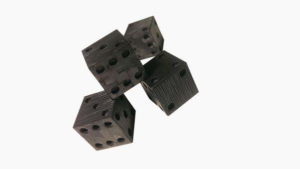Carbon fiber dice