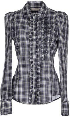 SCERVINO STREET Shirts - Shop for women's Shirt - Dark blue Shirt