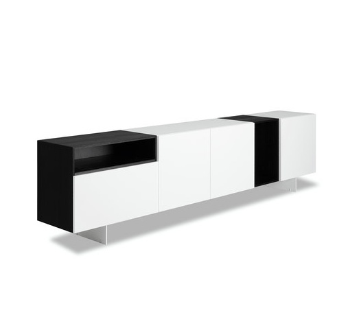 modern collection by porro designed by piero lissoni modular format allowing infinite tv unittv
