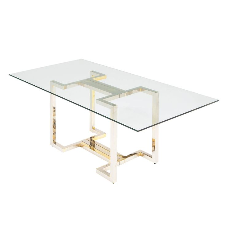 Sculptural Brass And Chrome Table Base Dining Room Table Tables And Modern