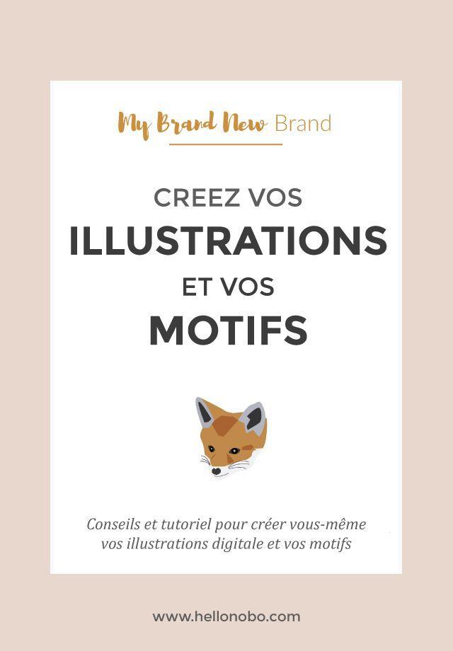 Conseils et tuto pour créer vous-même vos illustrations digitales et vos motifs: DIY