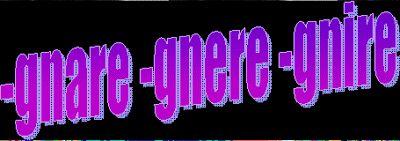 Ortografia: i verbi che terminano in –gnare, -gnere e -gnire