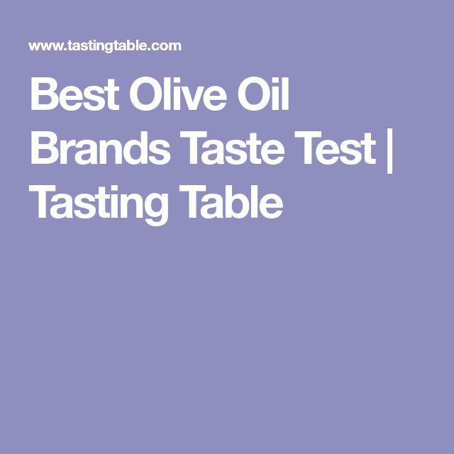 Best Olive Oil Brands Taste Test | Tasting Table