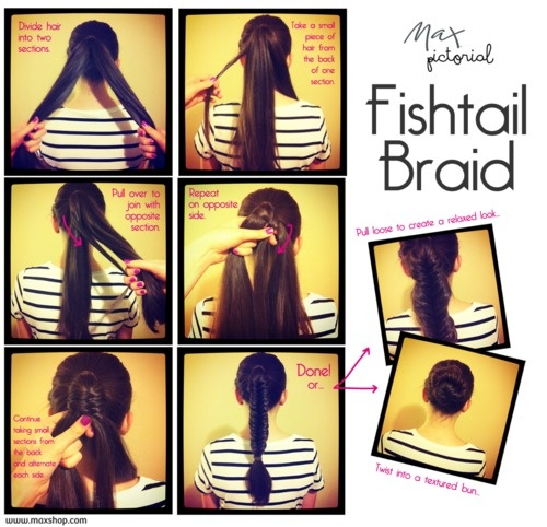 Max Pictorial... Fishtail Braid www.maxshop.com