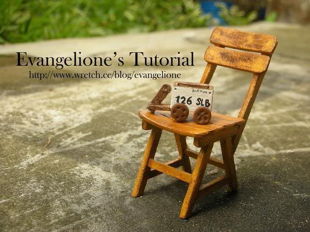 Evangelione: Miniature Wooden Chair Tutorial