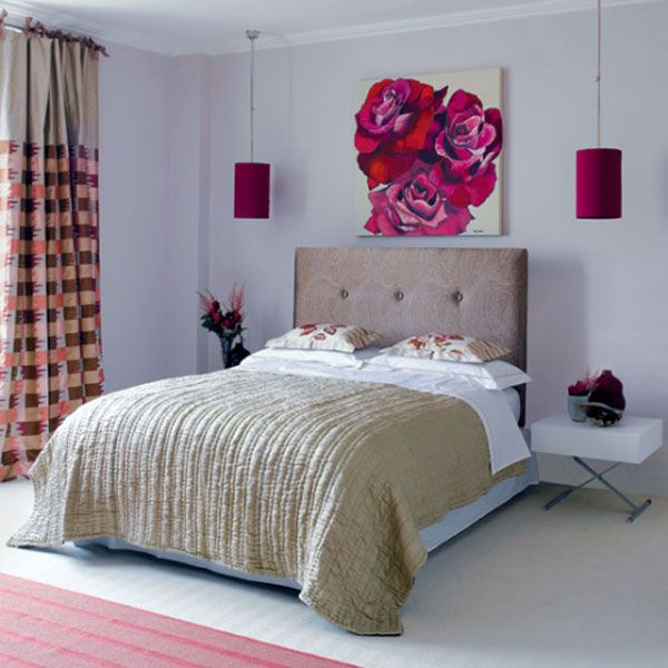 Bedroom Design, Amusing Decorating Best Paint Colors For Small Bedrooms  Ideas With Double Sized Bed Using Headboard And Brown Bedcover Also  Minimalist Night ...