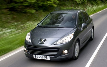 Peugeot 207 Coupe Cabriolet Car, from only £261.67 + vat per month