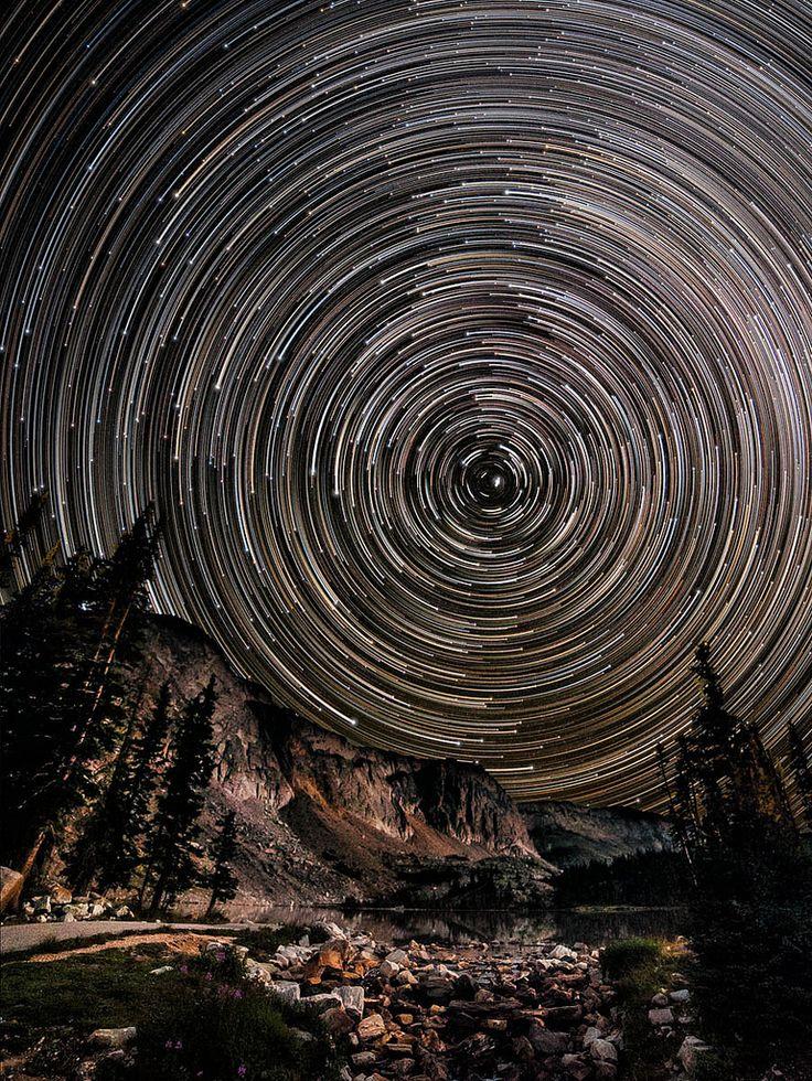 Fugas da estrela Faixa de neve (por David Kingham)