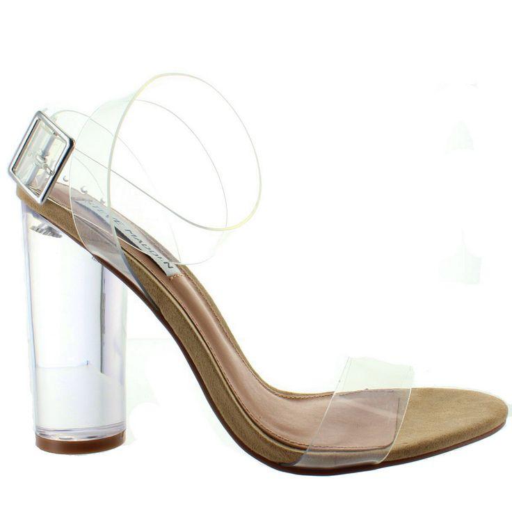Steve Madden Clearer - Clear High Heel Sandal