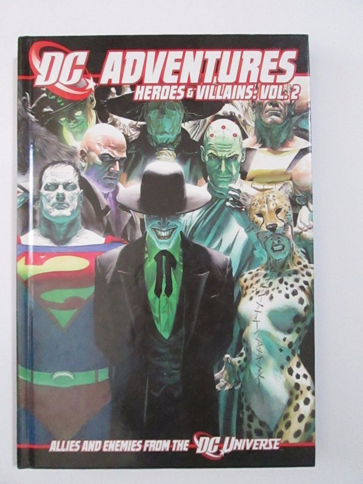Super Hero 2548: Dc Adventures Rpg Heroes And Villains Volume 2 Role Playing Game Book Grr5003 -> BUY IT NOW ONLY: $58 on eBay!