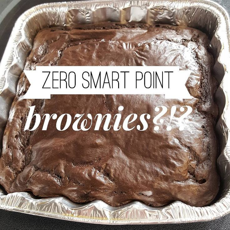 Yes! I found a way to make these ZERO smart points.  Zero smart points for 6 or 9 servings.  3 smart points for the entire pan.  I used 3 Tablespoons of Hersheys DARK cocoa instead of 1/2 cup cocoa. The Hersheys Dark is much more chocolate so that cut out an entire point.  I used 3 droppers of liquid Stevia instead of the granulated powder because that seemed like an awful lot.  SWIPE to see it in the recipe builder. 71 calories for 6 servings and 49 calories for 9 servings.  Or use the…