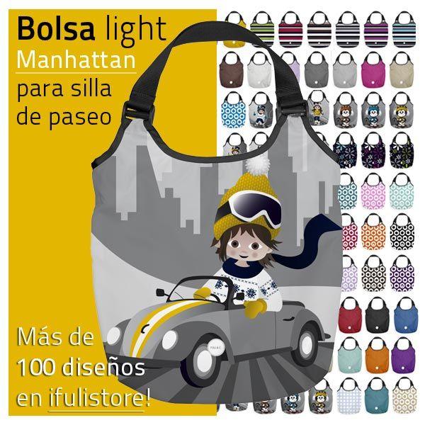 La bolsa LIGHT es una bolsa flexible, espaciona y ligera con 4 bolsillos interiores