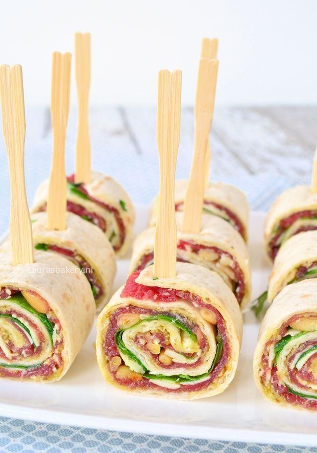 Carpaccio wraps (Laura's Bakery)