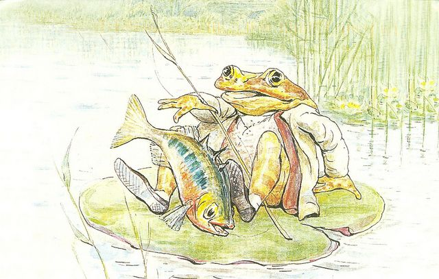 'The Tale of Mr. Jeremy Fisher' by Beatrix Potter