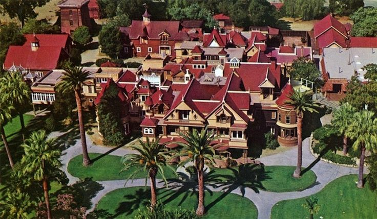 Winchester Mystery House, California, now open for overnight guests and alcohol! AHHH!!!