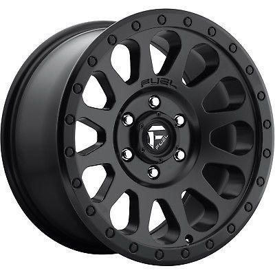 20x10 Black Fuel Vector D579 6x5.5 -18 Rims Nitto Mud Grappler 40X15.5X20 Tires