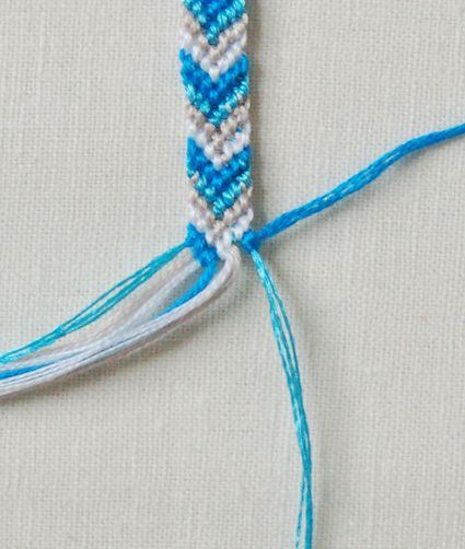 Friendship Bracelets! Tutorial from the Purl Bee. I think this is one of the only things from the 80s that I'm glad to see making a comeback. :)