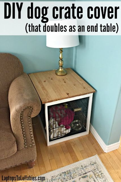Laptops to Lullabies: DIY dog crate cover