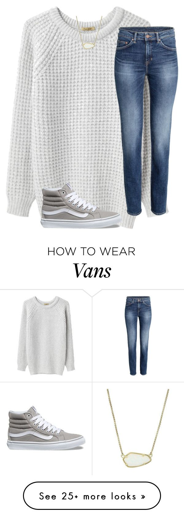 """""""Untitled #327"""" by kiahgates on Polyvore featuring Peter Jensen, Vans and Kendra Scott"""