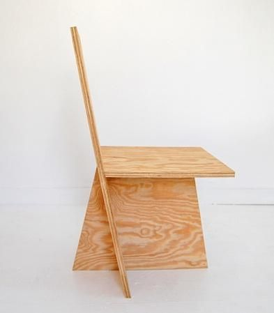 Matt Olson, Mike Brady, and Joe Mollen; Plywood '+Chair Ply' Chair for ROLU Studio, 2010.