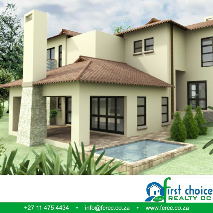 Executive Development in Ruimsig, Build by First Choice Realty CC. Santa Maria Estate!! All plans are custom designed with a client's budget and needs in mind with various architectural styles available . Visit our website: http://besociable.link/4g #Ruimsig #executivedevelopment #property