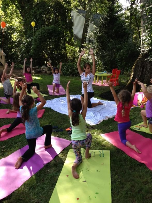 Yoga Birthday Party