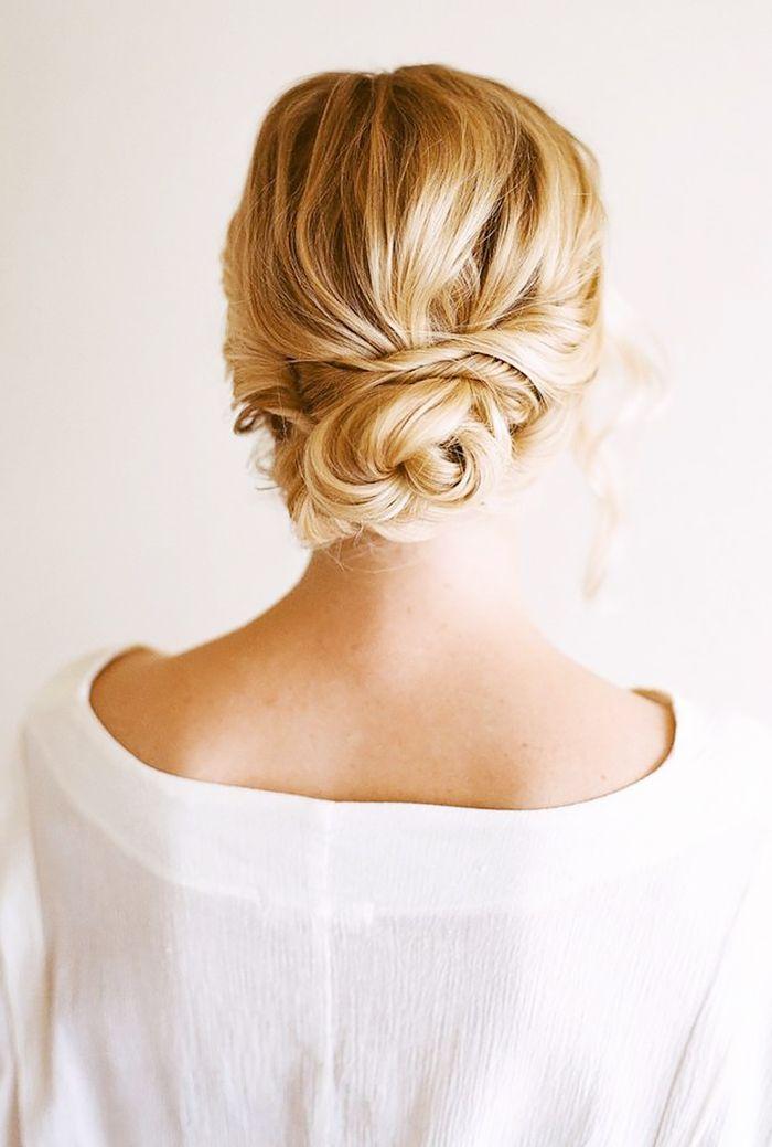 25+ Best Ideas About Low Bun Hairstyles On Pinterest