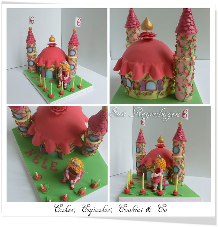 lillifee schloss torte ii lillifee castle cake meine