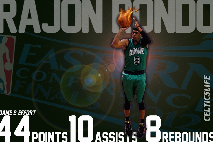NBA Video: Rajon Rondo's BIG Night (